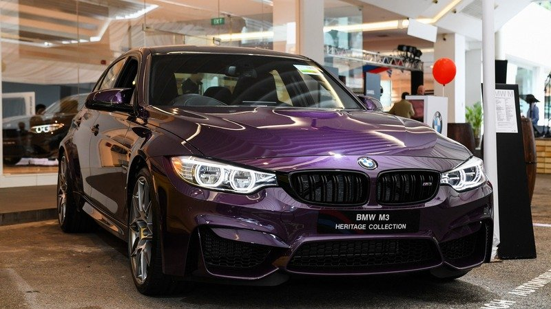 2017 BMW M3 Heritage Collection Singapore Edition