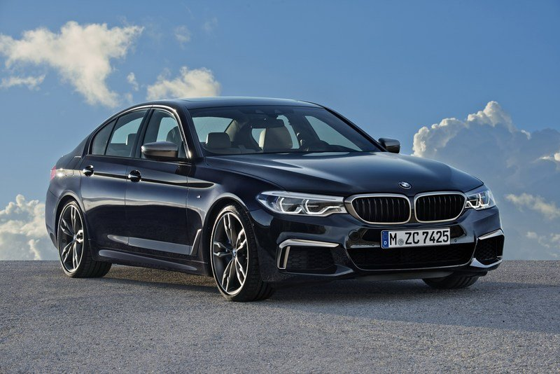 2018 BMW M550i xDrive High Resolution Exterior - image 698855