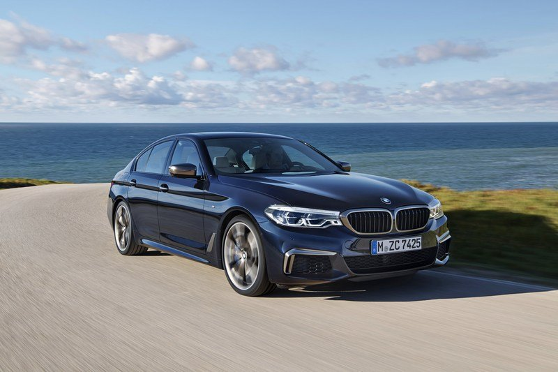 2018 BMW M550i xDrive High Resolution Exterior - image 698862