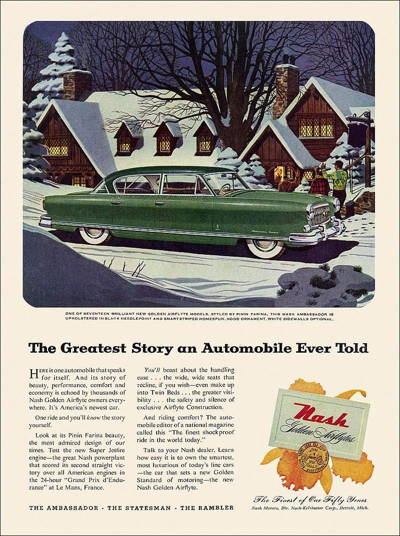 Celebrate Christmas With These Cool, Vintage Car Ads - image 699267