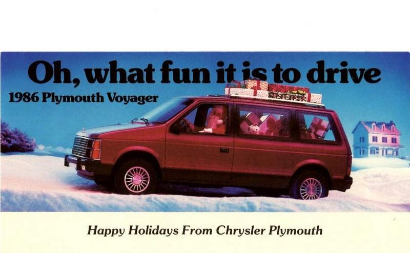 Celebrate Christmas With These Cool, Vintage Car Ads - image 699268