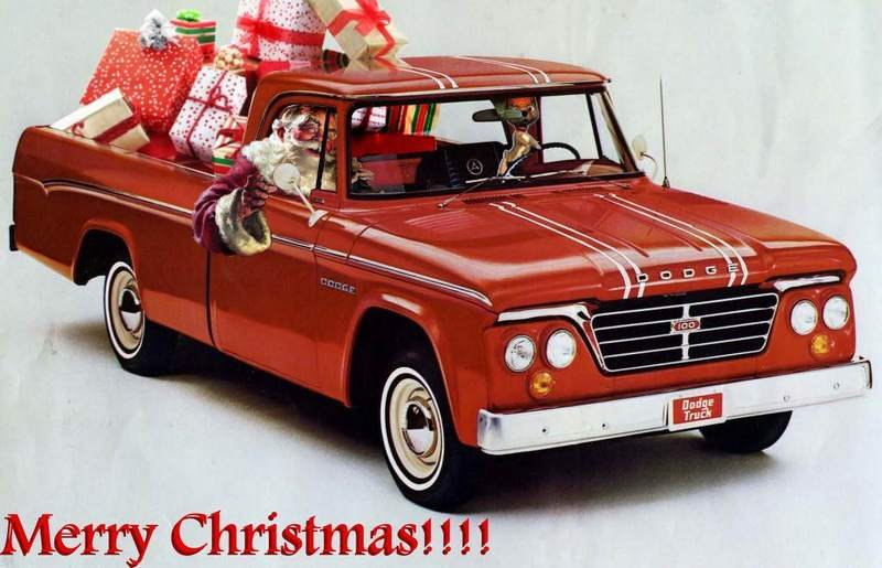 Celebrate Christmas With These Cool, Vintage Car Ads picture - doc699260