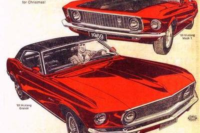 Celebrate Christmas With These Cool, Vintage Car Ads - image 699261