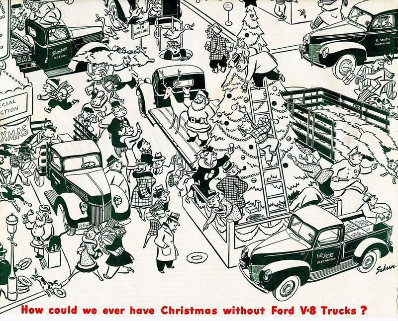 Celebrate Christmas With These Cool, Vintage Car Ads - image 699263