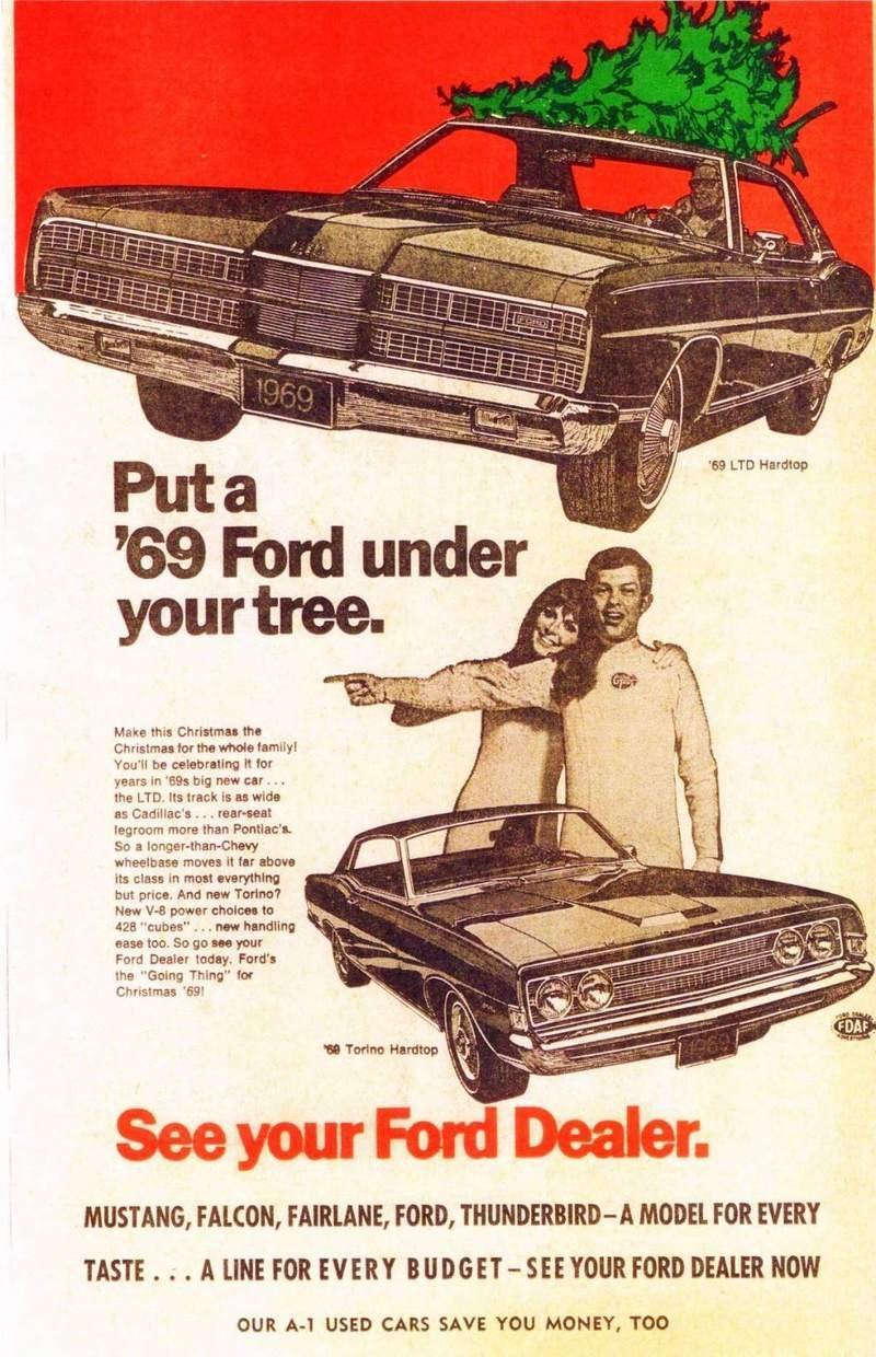 Celebrate Christmas With These Cool, Vintage Car Ads - image 699264