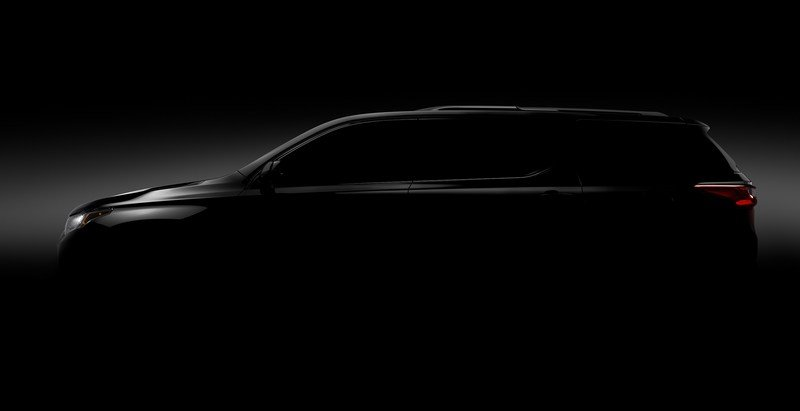 Chevy Says All-New Traverse Coming to Detroit Auto Show - image 698895