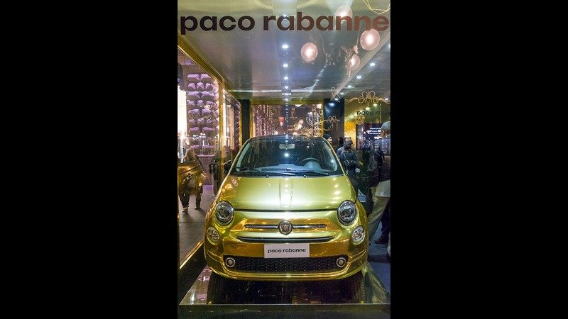 2017 Fiat 500 Paco Rabanne Edition