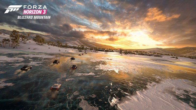 Forza Horizon 3's New Expansion Pack Will Let You Race On An Ice-Covered Lake