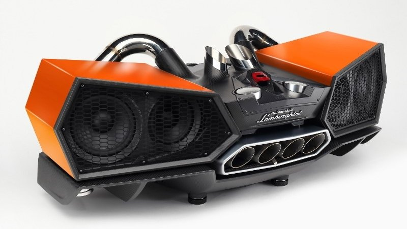 Holiday Gifts Don't Get Any Cooler Than This Lamborghini-Themed Speaker
