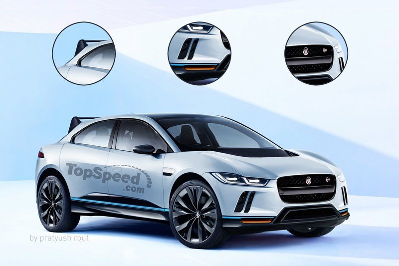 2020 Jaguar I-Pace SVR Exterior Exclusive Renderings Computer Renderings and Photoshop - image 697447