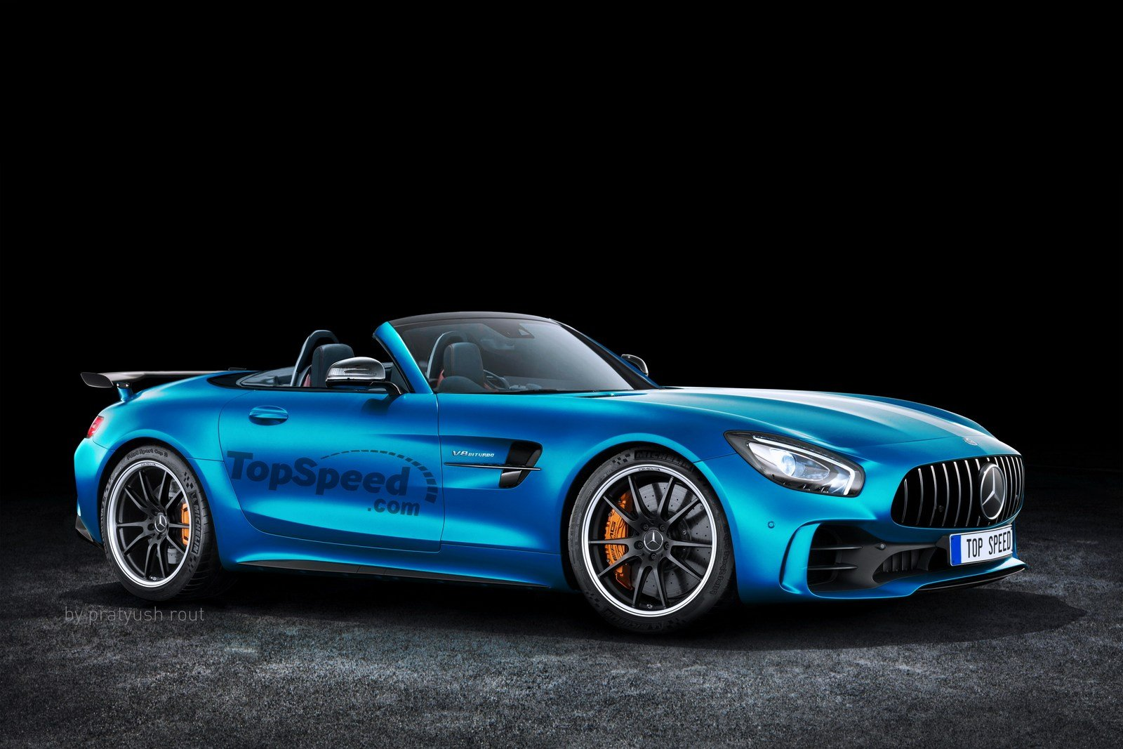 2019 mercedes amg gt r roadster picture 697450 car. Black Bedroom Furniture Sets. Home Design Ideas