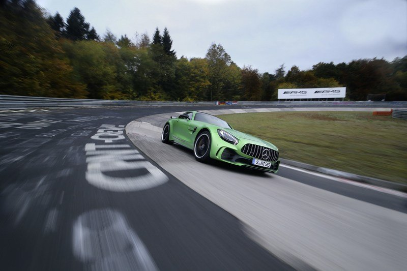 Mercedes AMG GT R Runs Nürburgring in 7:10.9 Minutes High Resolution Exterior - image 697873
