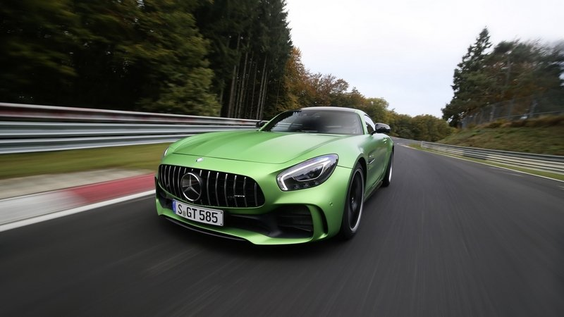 Mercedes AMG GT R Runs Nürburgring in 7:10.9 Minutes