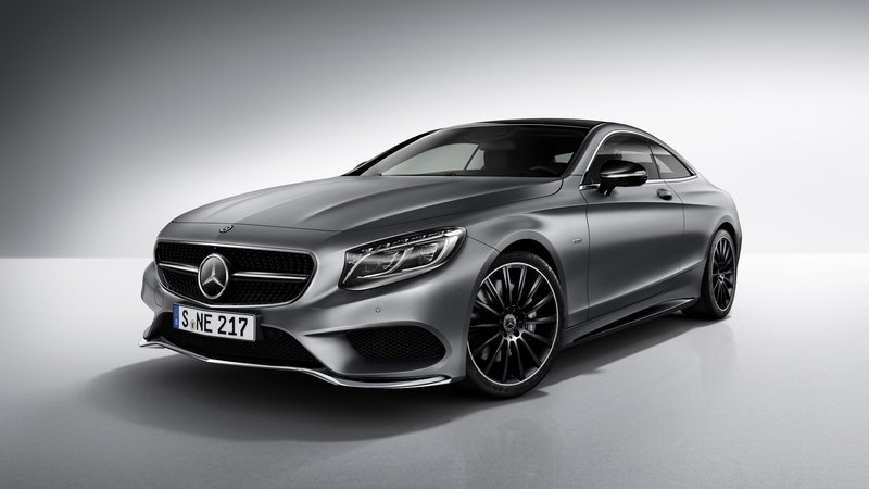 "2017 Mercedes-Benz S-Class Coupe ""Night Edition"""