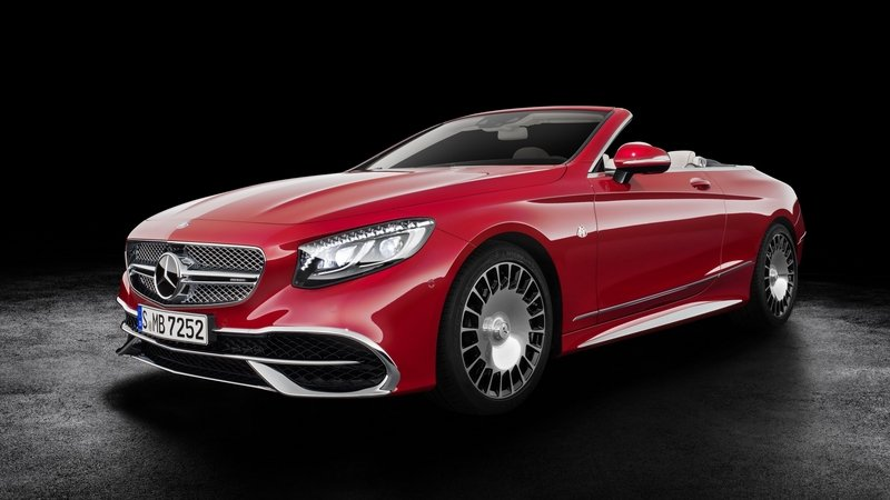 2018 Mercedes-Maybach S650 Cabriolet
