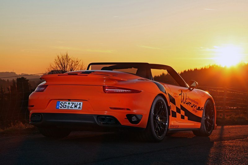 2017 Porsche 911 Turbo S Convertible By Wimmer High Resolution Exterior - image 698319