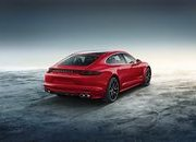 Porsche Panamera Turbo Executive Gets Red For The Holidays - image 699502
