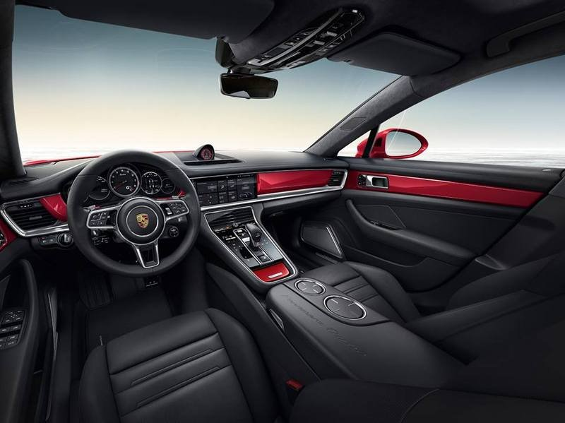 Porsche Panamera Turbo Executive Gets Red For The Holidays