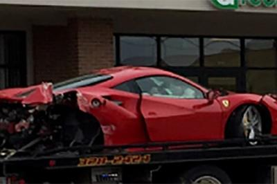Student in Ferrari 488 GTB Finds Out Why You Shouldn't Have a Heavy Foot