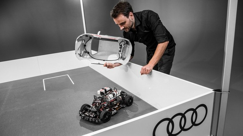 The Audi Q2 Deep Learning Concept is the coolest 1:8 Scale Model You've Ever Seen