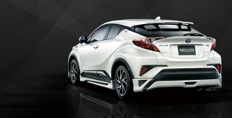 2016 Toyota C-HR With Modellista Aero Kits