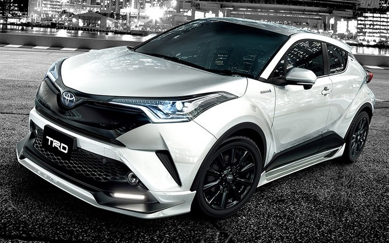 2017 Toyota C-HR With TRD Aero Kits