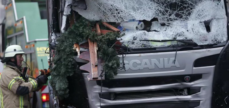 Truck Plows Into Berlin Christmas Market And Kills Twelve
