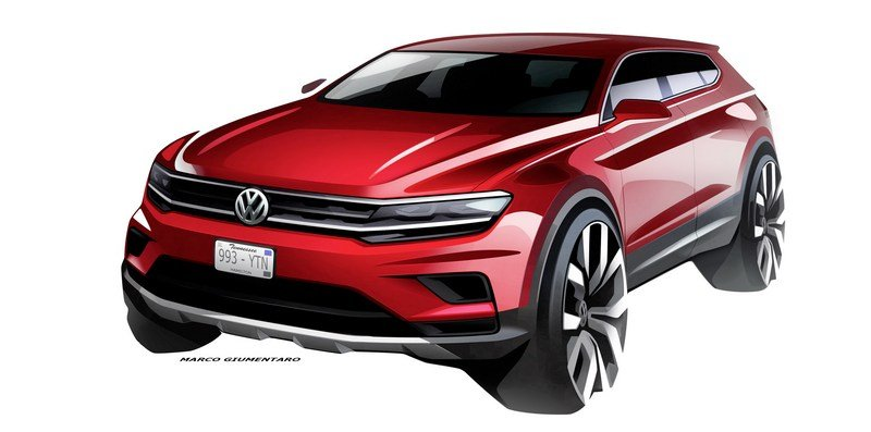 2018 Volkswagen Tiguan Allspace Exterior Computer Renderings and Photoshop - image 698764