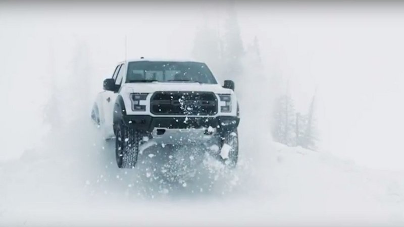 Watch Ken Block Having Fun With The 2017 Ford F-150 Raptor
