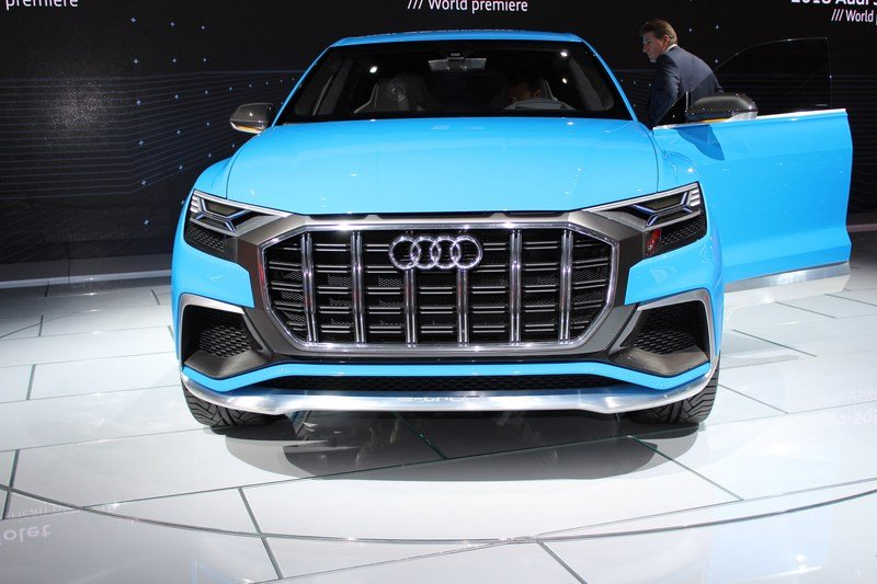 2017 Audi Q8 E-tron Concept High Resolution Exterior AutoShow - image 701382