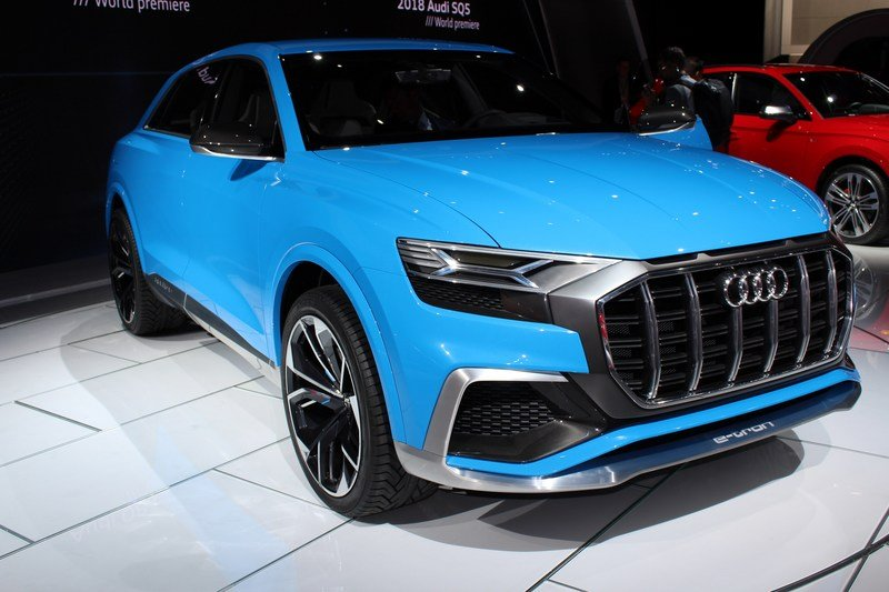 2017 Audi Q8 E-tron Concept High Resolution Exterior AutoShow - image 701383