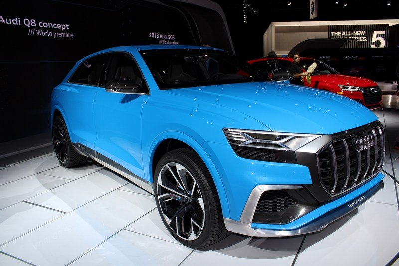 2017 Audi Q8 E-tron Concept High Resolution Exterior AutoShow - image 701385