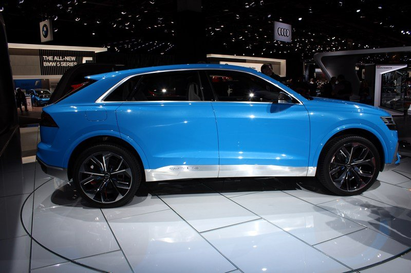 2017 Audi Q8 E-tron Concept High Resolution Exterior AutoShow - image 701387