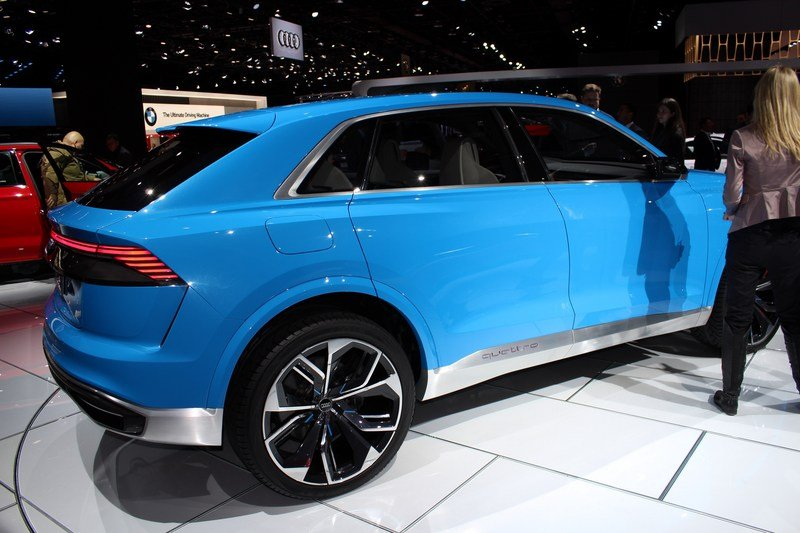 2017 Audi Q8 E-tron Concept High Resolution Exterior AutoShow - image 701388