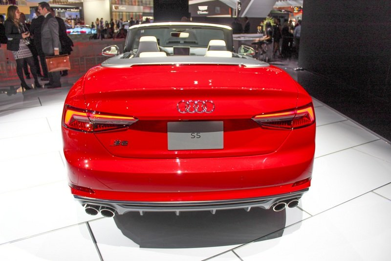 2017 Audi S5 Cabriolet High Resolution Exterior AutoShow - image 702581