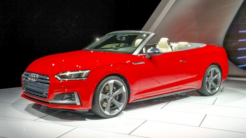 2017 Audi S5 Cabriolet Top Speed