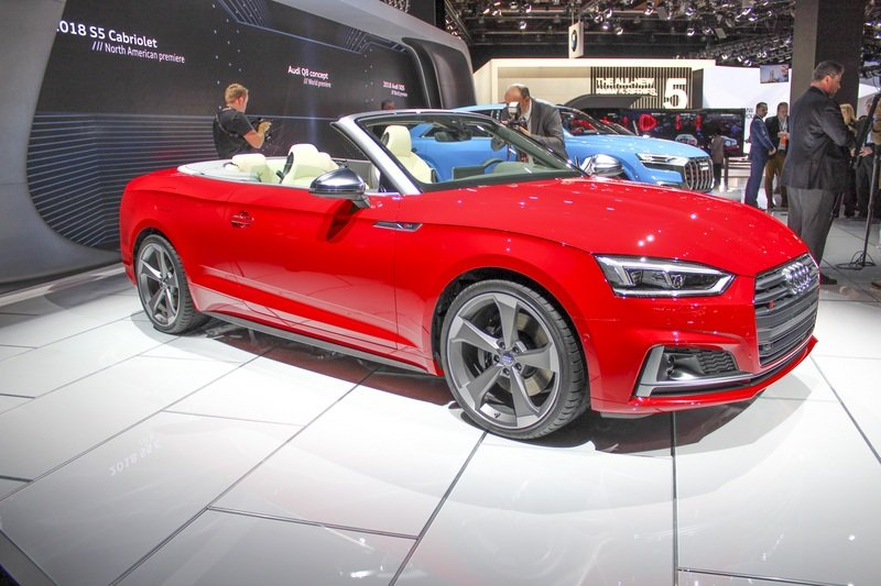 2017 Audi S5 Cabriolet High Resolution Exterior AutoShow - image 702570