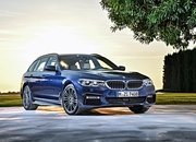 2017 BMW 5 Series Touring Unveiled - image 703988