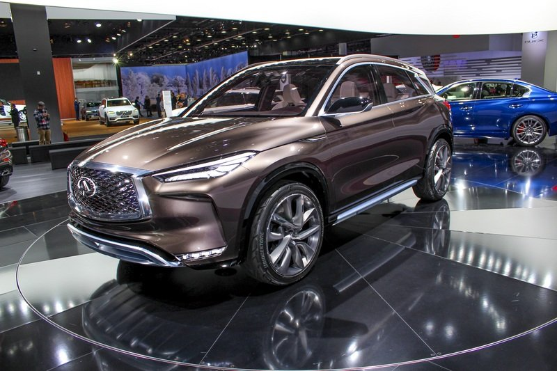 2017 Infiniti QX50 Concept High Resolution Exterior AutoShow - image 702025