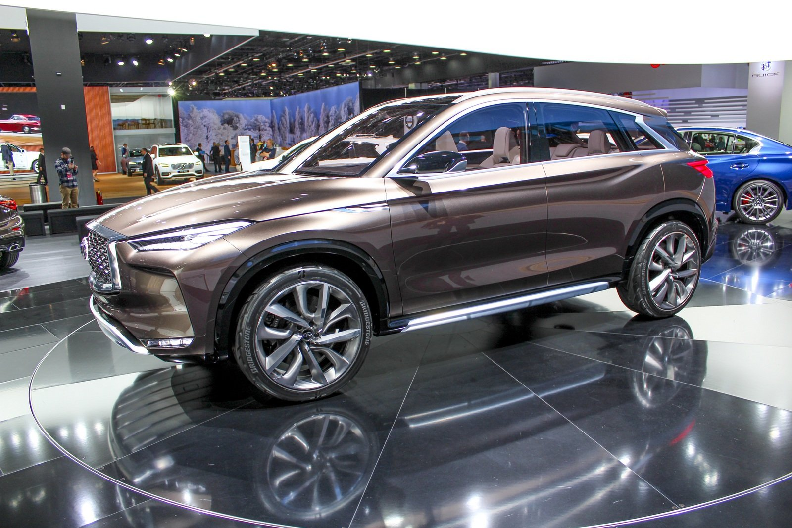 2017 infiniti qx50 concept picture 702026 car review top speed. Black Bedroom Furniture Sets. Home Design Ideas