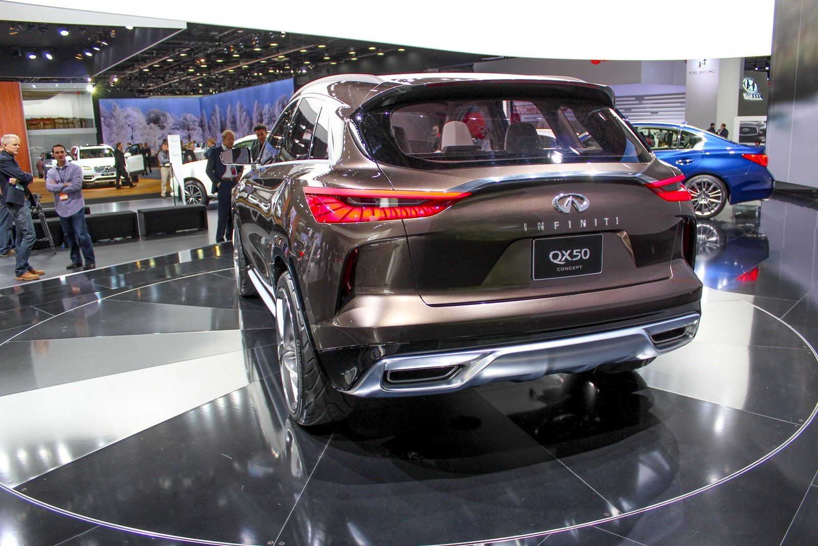 2017 infiniti qx50 concept picture 702017 car review top speed. Black Bedroom Furniture Sets. Home Design Ideas