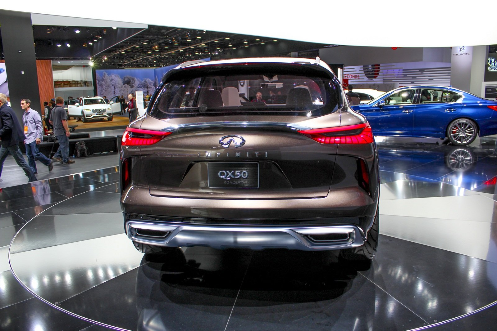 2017 infiniti qx50 concept picture 702018 car review top speed. Black Bedroom Furniture Sets. Home Design Ideas
