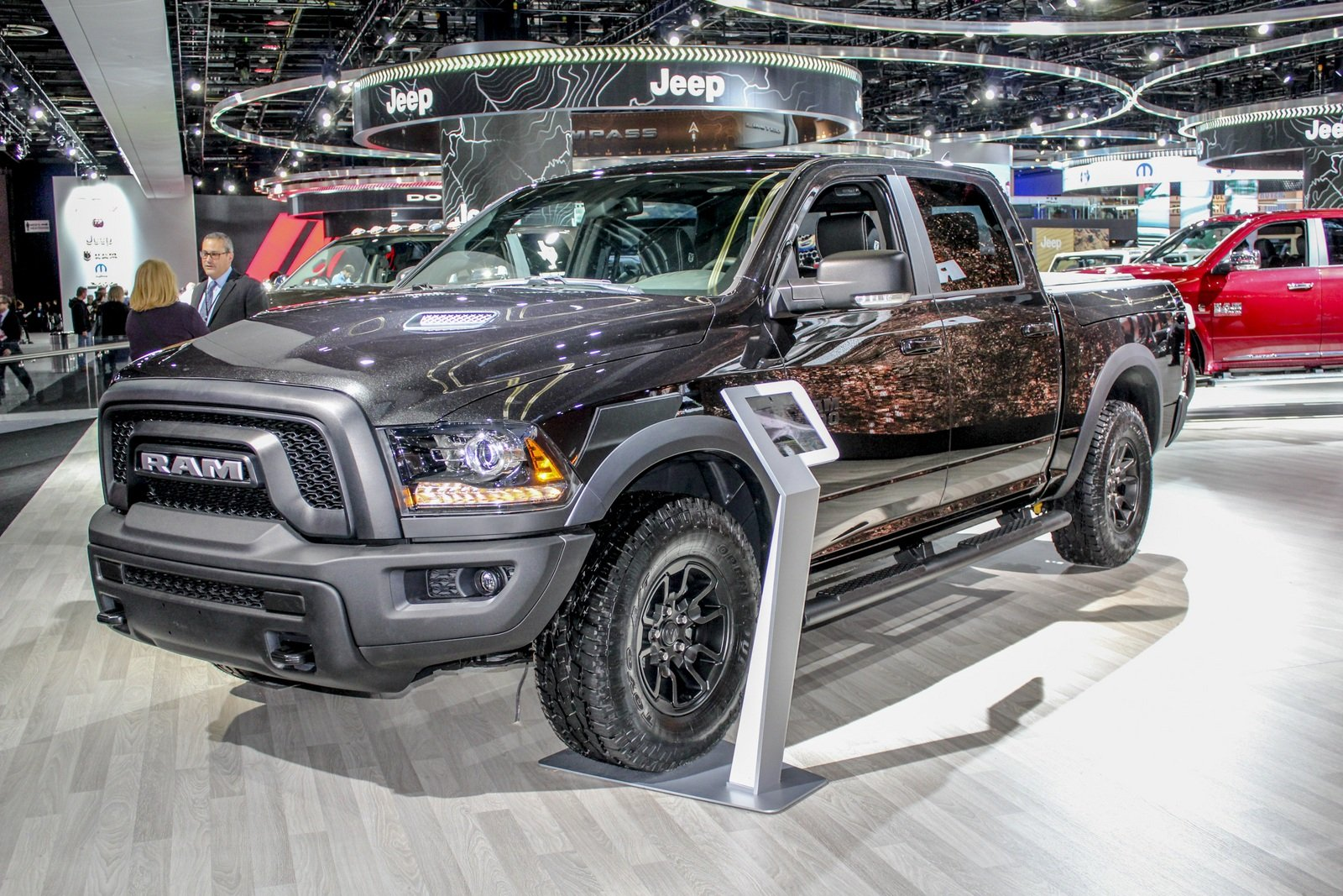 2017 ram 1500 rebel black edition picture 703112 truck review top speed. Black Bedroom Furniture Sets. Home Design Ideas
