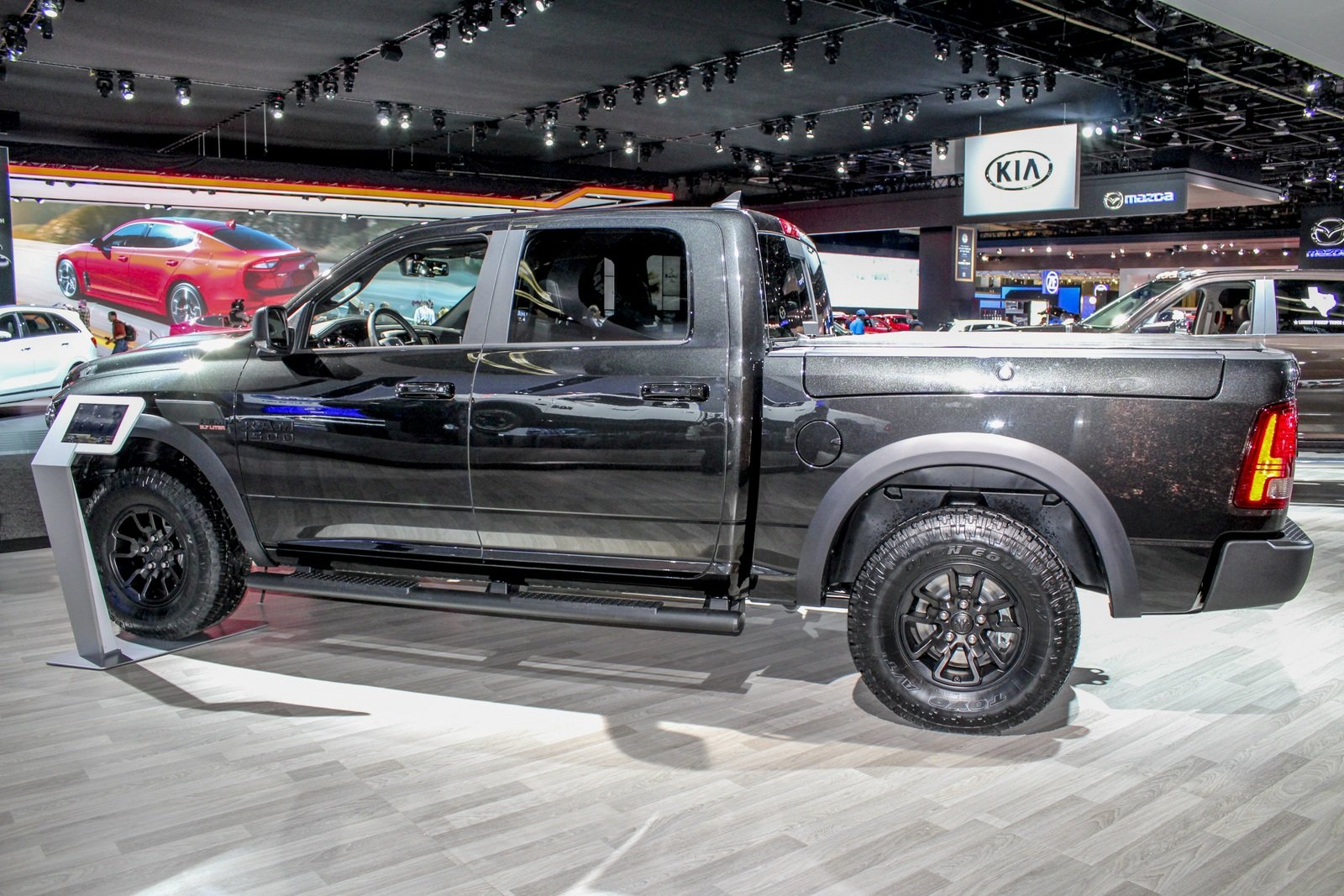 2017 ram 1500 rebel black edition picture 703116 truck review top speed. Black Bedroom Furniture Sets. Home Design Ideas
