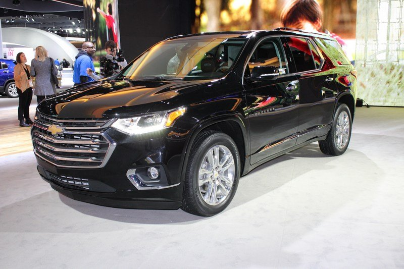 2018 Chevrolet Traverse High Resolution Exterior AutoShow - image 701354