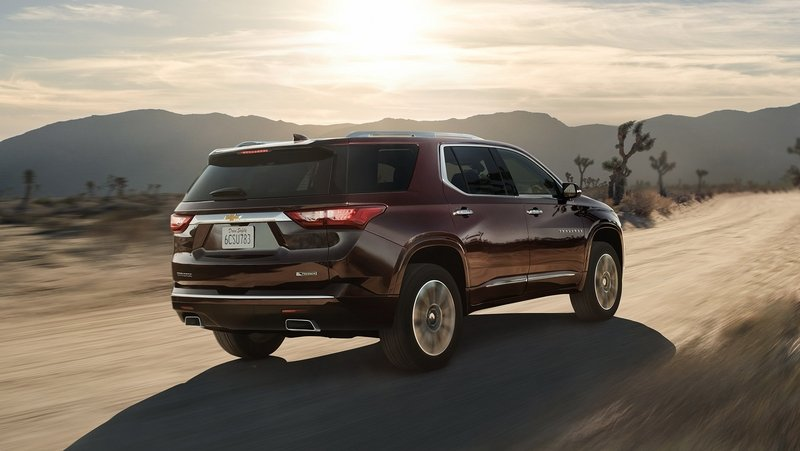 2018 Chevrolet Traverse High Resolution Exterior - image 700702