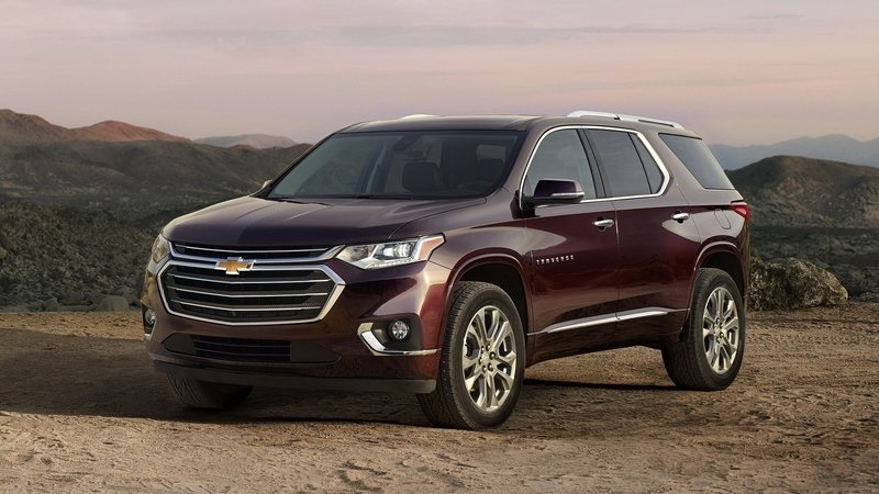 2018 Chevy Traverse Goes Upscale in All-New Generation