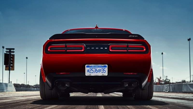 2018 Dodge Challenger SRT Demon High Resolution Exterior - image 703624
