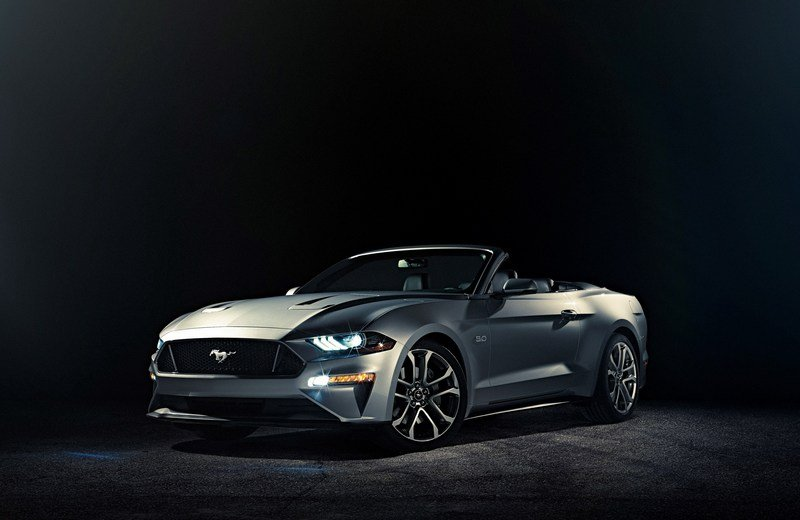 New Technology, Attractive Looks, and Energetic Power to Keep Mustang Convertible Competitive Through 2020 High Resolution Exterior - image 702976