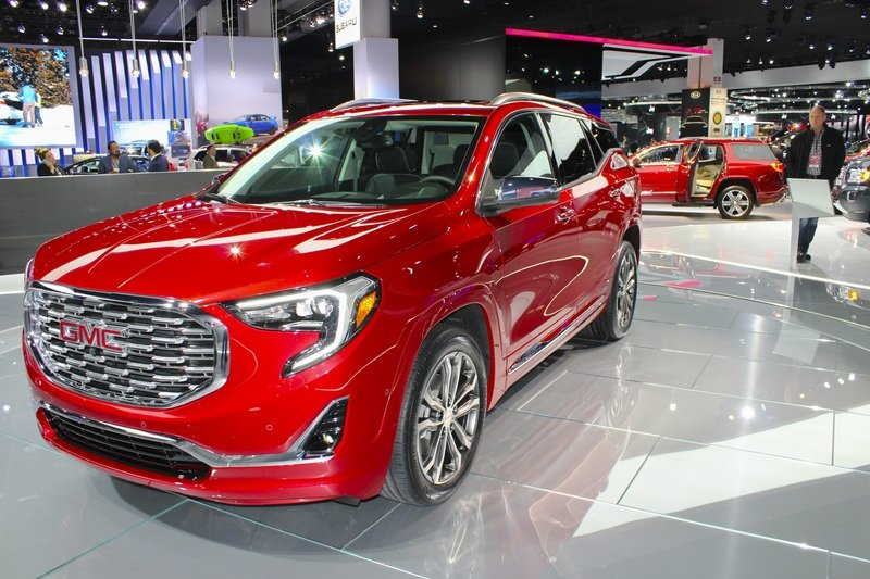 2018 GMC Terrain High Resolution Exterior AutoShow - image 701452